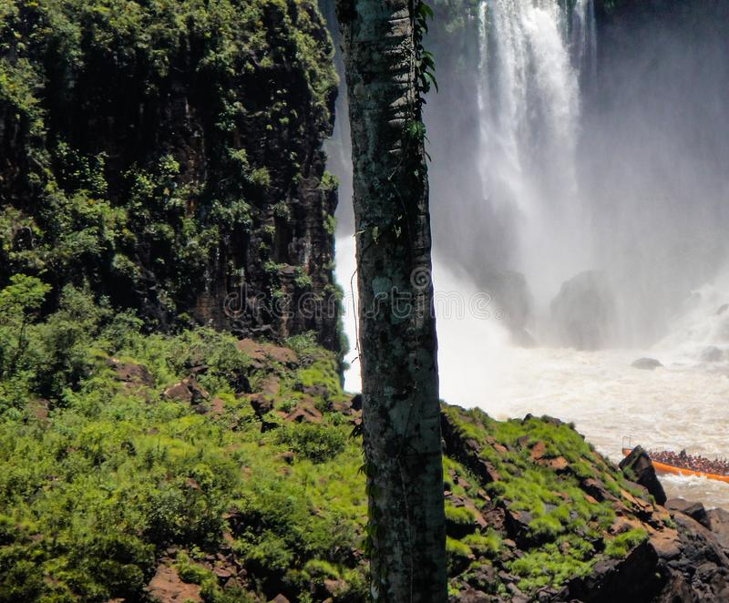 Καταρράκτες Iguazu στην Αργεντινή στοκ εικόνα