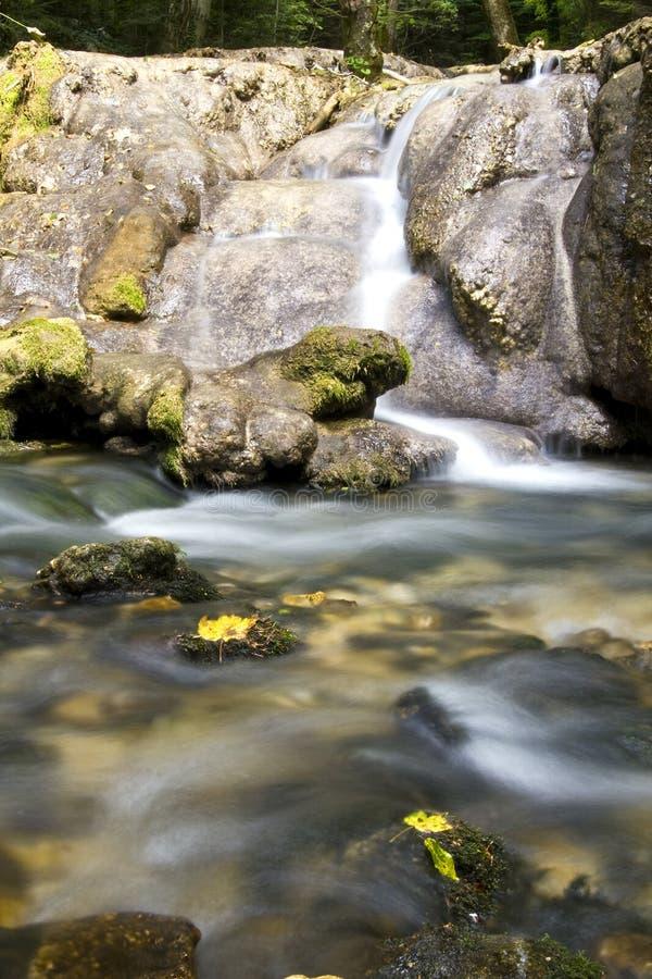 καταρράκτης ποταμών βουνώ&nu στοκ εικόνες