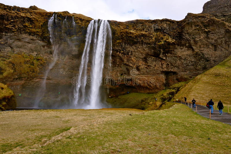Καταρράκτης στην Ισλανδία στοκ φωτογραφία με δικαίωμα ελεύθερης χρήσης