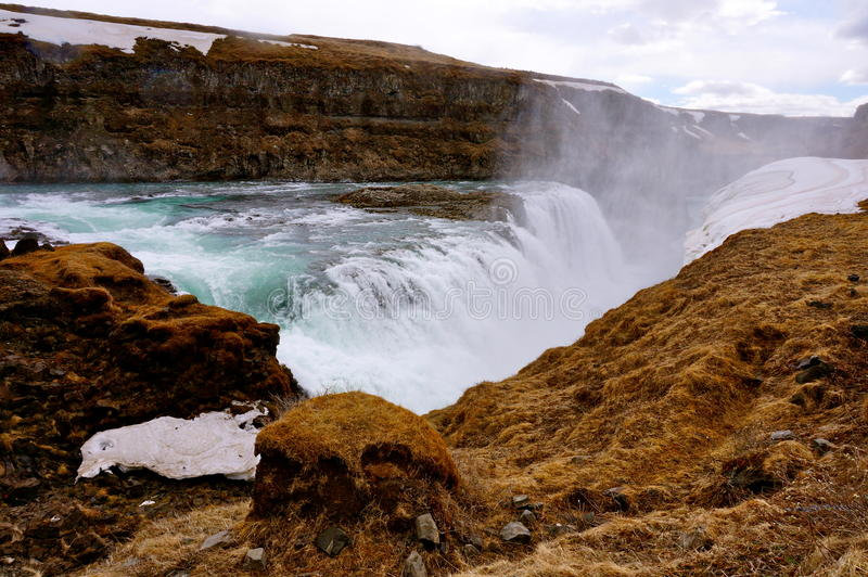 Καταρράκτης στην Ισλανδία στοκ φωτογραφίες με δικαίωμα ελεύθερης χρήσης