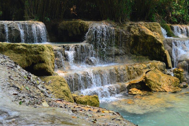 Καταρράκτης στη ζούγκλα στοκ φωτογραφία με δικαίωμα ελεύθερης χρήσης
