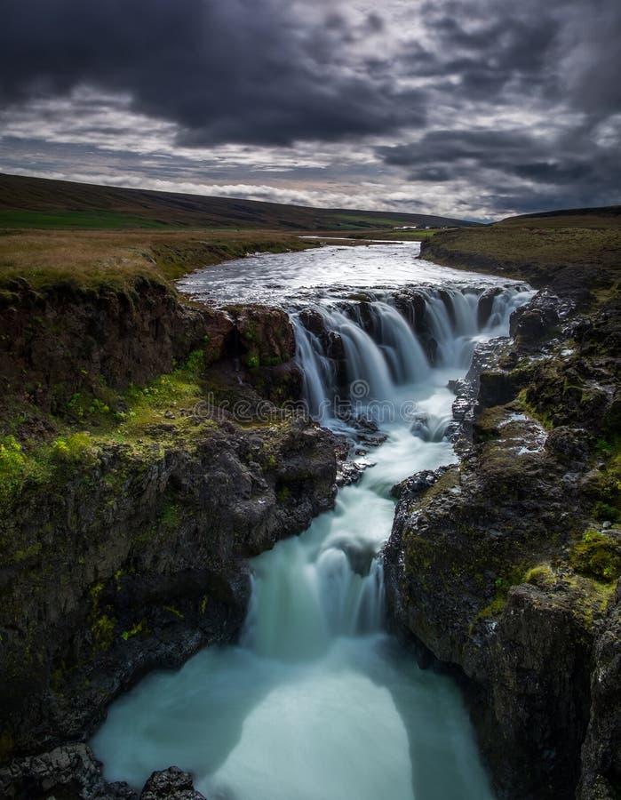 Καταρράκτης της Ισλανδίας στοκ εικόνα
