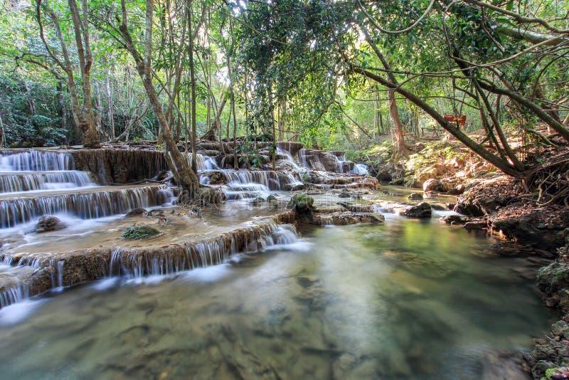 Καταρράκτης της Mae Kamin Huay, Ταϊλάνδη στοκ φωτογραφία με δικαίωμα ελεύθερης χρήσης
