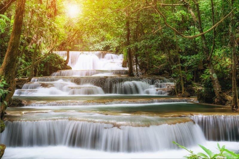 Καταρράκτης όμορφη Ταϊλάνδη, καταρράκτης στην επαρχία Kanchanaburi στοκ φωτογραφία με δικαίωμα ελεύθερης χρήσης