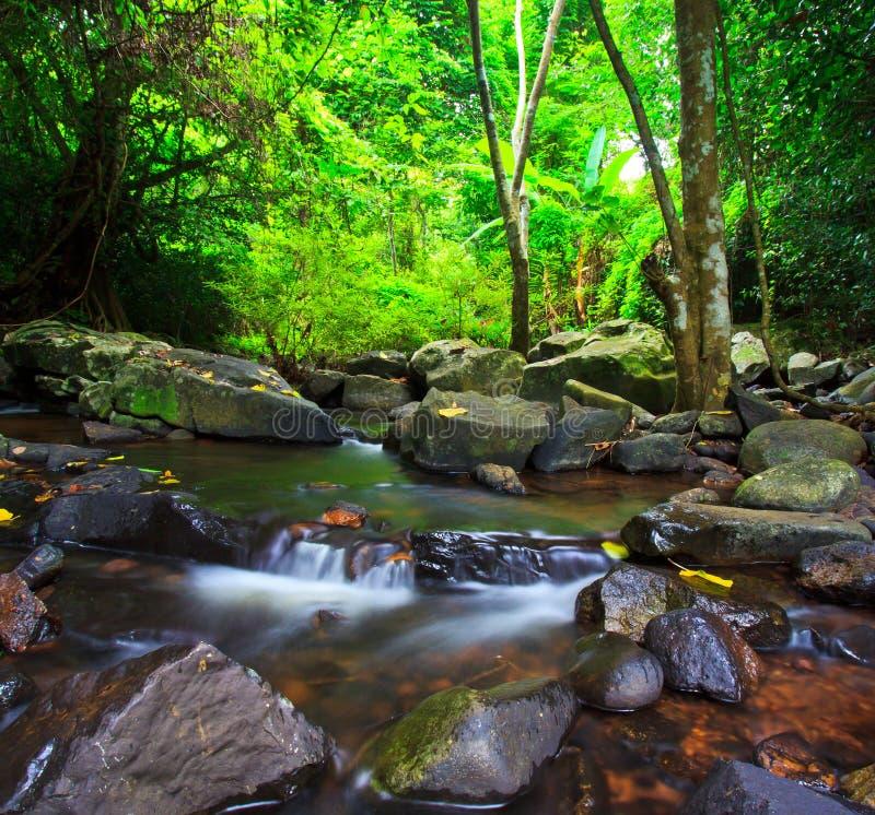 Καταρράκτης Kod Jed, Ταϊλάνδη στοκ φωτογραφία με δικαίωμα ελεύθερης χρήσης