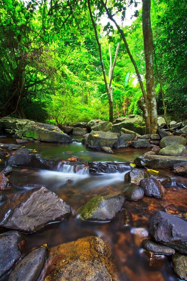 Καταρράκτης Kod Jed, Ταϊλάνδη στοκ φωτογραφία