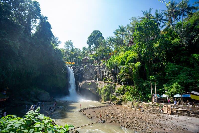 Καταρράκτης Tegenungan, Μπαλί, Ινδονησία στοκ εικόνες με δικαίωμα ελεύθερης χρήσης