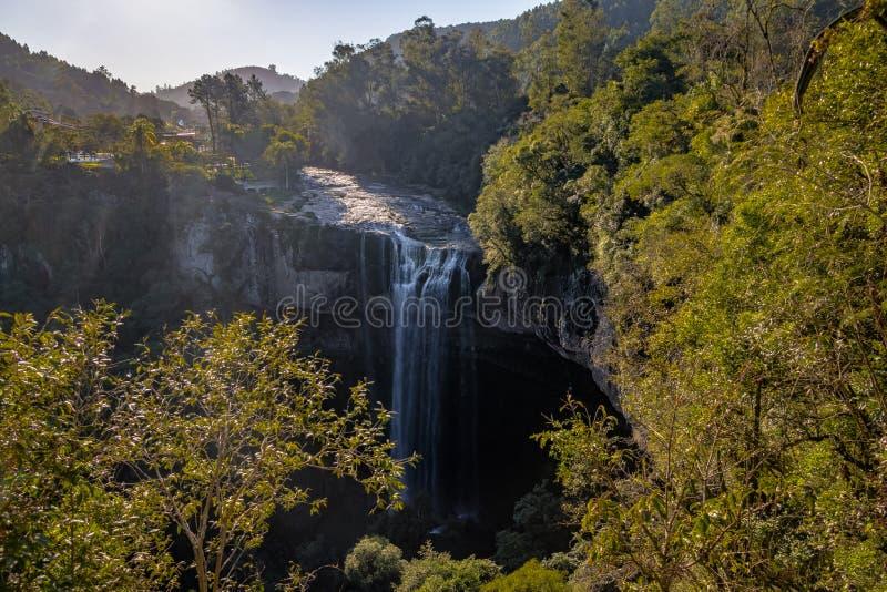 Καταρράκτης Ventoso Salto - Farroupilha, Rio Grande κάνει τη Sul, Βραζιλία στοκ εικόνα με δικαίωμα ελεύθερης χρήσης