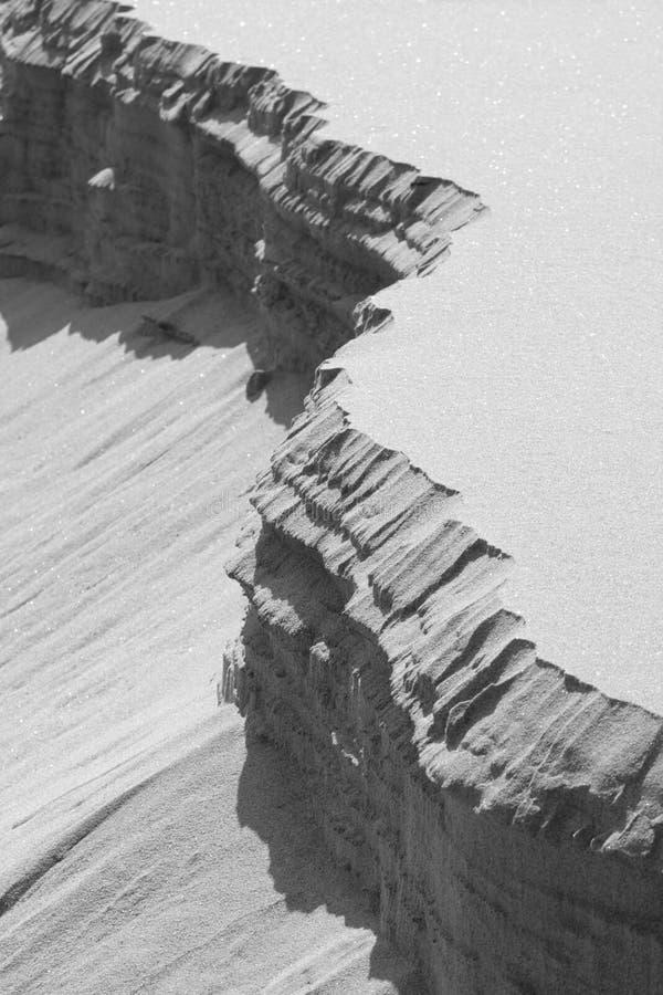 καταρρέοντας άμμος αμμόλ&omicron στοκ φωτογραφία με δικαίωμα ελεύθερης χρήσης