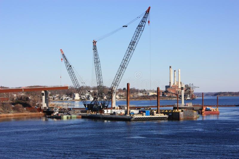 κατασκευή γεφυρών νέα στοκ εικόνες