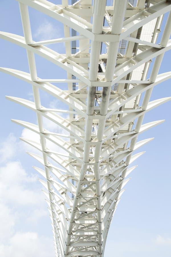 Κατασκευή γεφυρών χάλυβα στοκ φωτογραφία