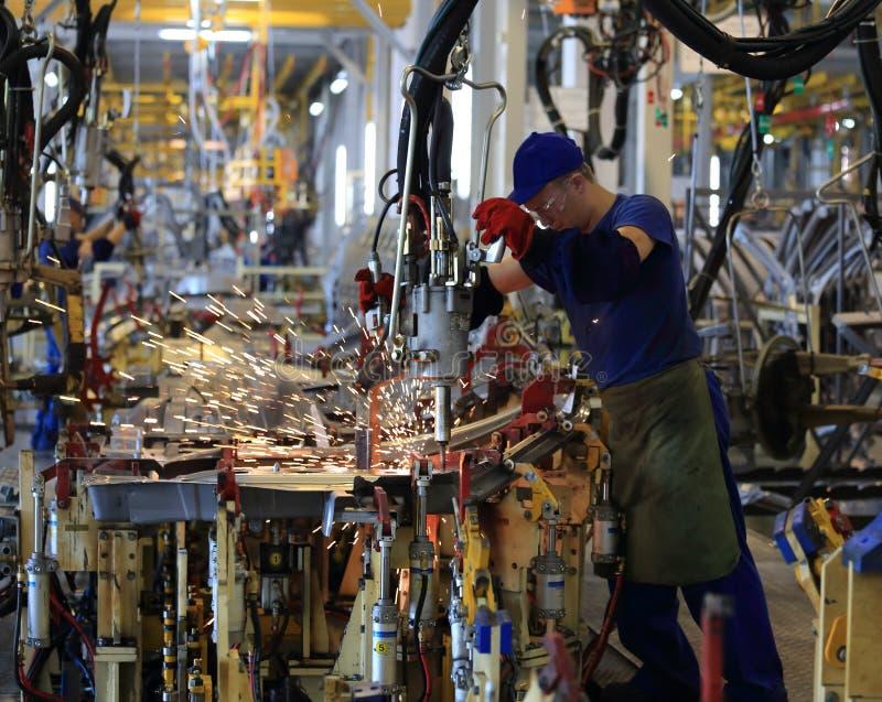 Κατασκευή εργοστασίων στοκ φωτογραφία με δικαίωμα ελεύθερης χρήσης