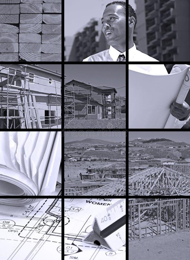 κατασκευή κολάζ στοκ εικόνα με δικαίωμα ελεύθερης χρήσης
