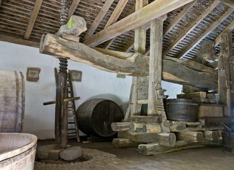 κατασκευή του κρασιού στοκ εικόνες με δικαίωμα ελεύθερης χρήσης