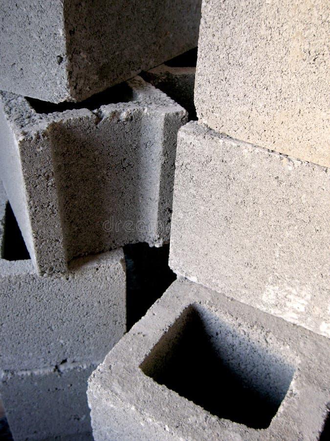 κατασκευή τούβλων κάτω στοκ εικόνα