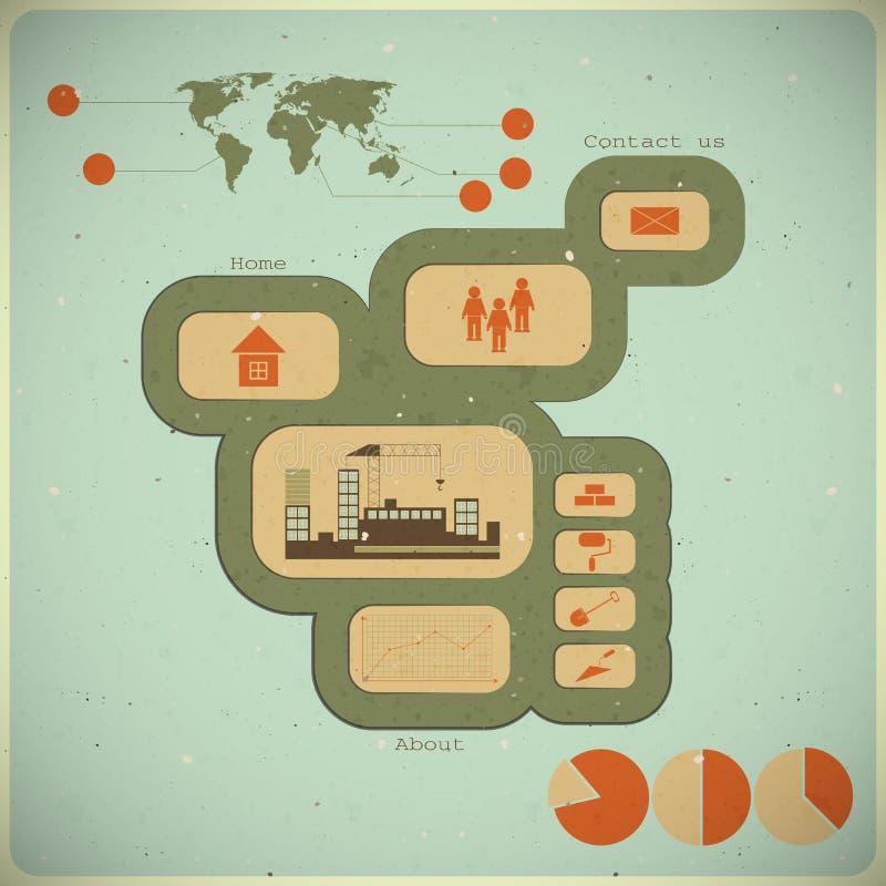 Κατασκευή Infographics απεικόνιση αποθεμάτων