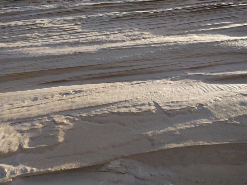 Κατασκευασμένη εικόνα αμμόλοφων άμμου στοκ φωτογραφίες με δικαίωμα ελεύθερης χρήσης