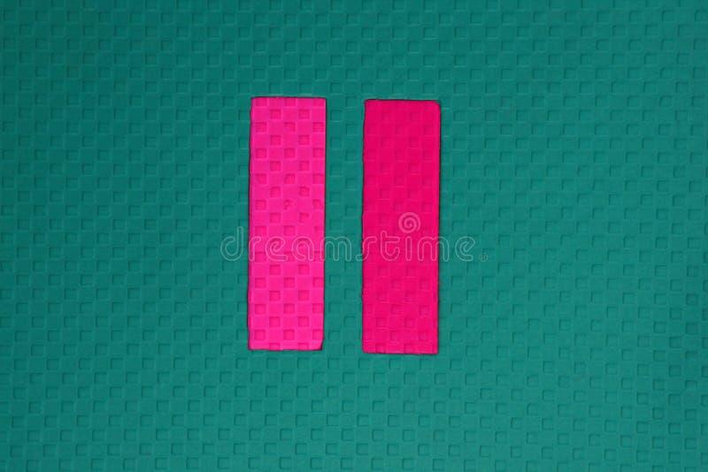Κατασκευασμένη ημέρα παιδικών χαρών συμβόλων χρωμάτων στοκ φωτογραφία με δικαίωμα ελεύθερης χρήσης