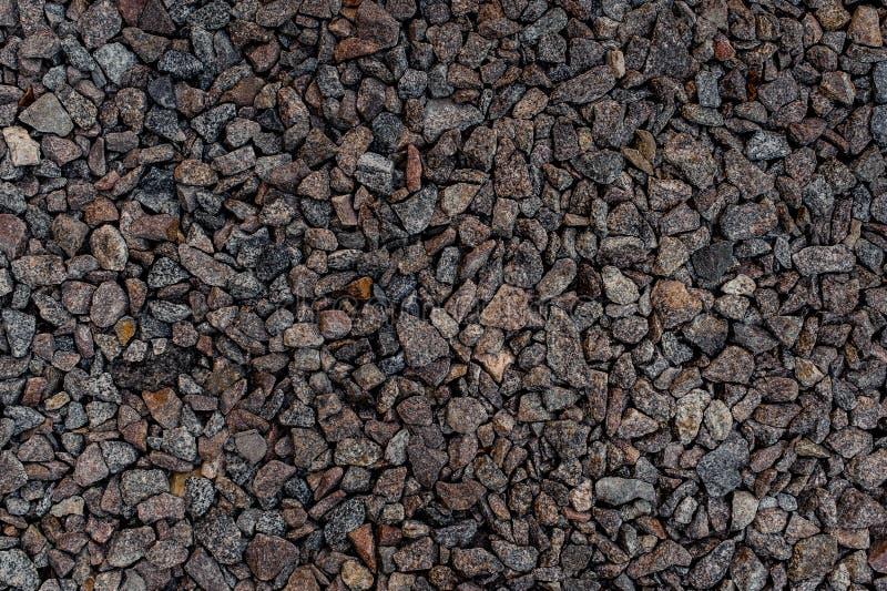 Κατασκευασμένη ταπετσαρία υποβάθρου των γκρίζων αιχμηρών πετρών χαλικιών στοκ εικόνες με δικαίωμα ελεύθερης χρήσης