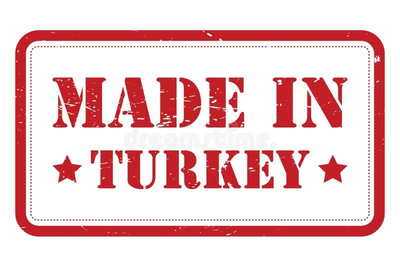 Κατασκευασμένος στην Τουρκία απεικόνιση αποθεμάτων