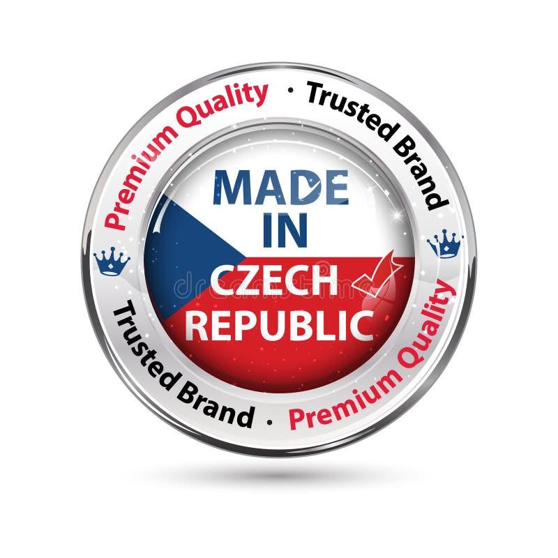 Κατασκευασμένος στη Δημοκρατία της Τσεχίας, εξαιρετική ποιότητα, εμπιστευμένο εμπορικό σήμα ελεύθερη απεικόνιση δικαιώματος
