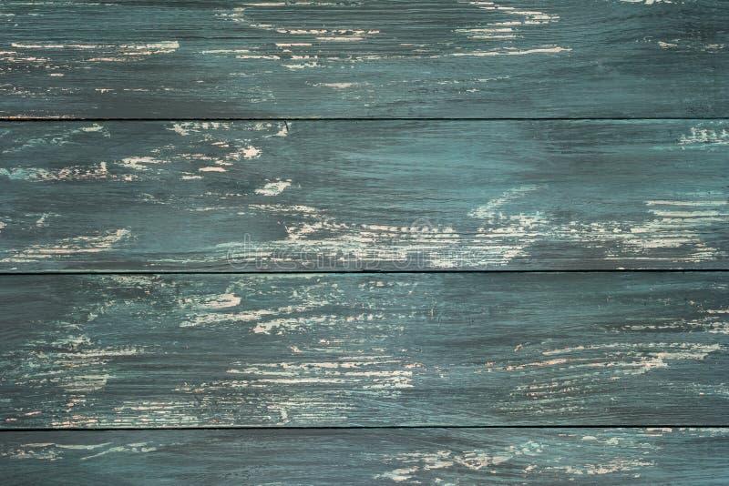 Παλαιοί ξύλινοι πίνακες με το ραγισμένο χρώμα Κατασκευασμένο εκλεκτής ποιότητας υπόβαθρο με τις gorizontal γραμμές Στοιχείο, για  στοκ φωτογραφίες