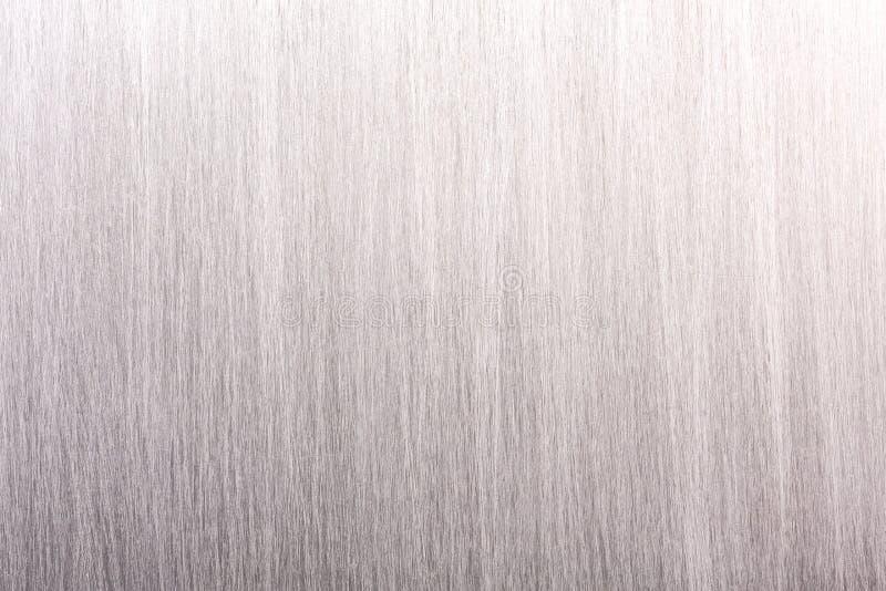 Κατασκευασμένο υπόβαθρο του βουρτσισμένου γκρίζου βιομηχανικού μεταλλικού πιάτου στοκ φωτογραφία
