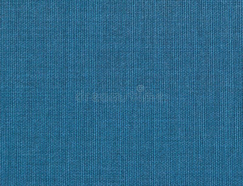 Κατασκευασμένο υπόβαθρο του μπλε φυσικού κλωστοϋφαντουργικού προϊόντος στοκ εικόνες