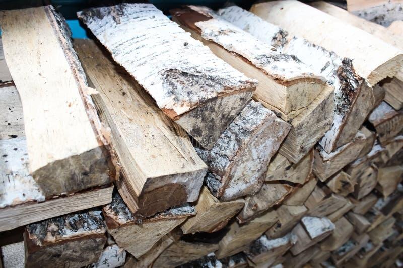 Κατασκευασμένο υπόβαθρο των ξύλινων κούτσουρων στοκ φωτογραφία με δικαίωμα ελεύθερης χρήσης