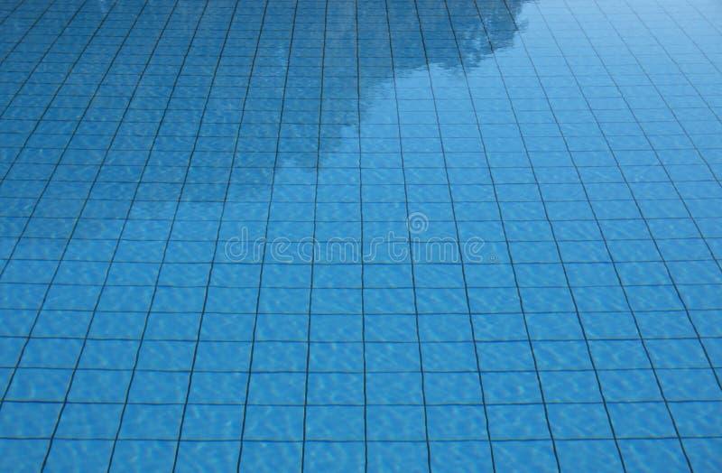 Κατασκευασμένο φως του ήλιου σχεδίων θερινών κυματισμένο αντανάκλαση κυμάτων υποβάθρου επιφάνειας νερού πισινών στοκ φωτογραφία με δικαίωμα ελεύθερης χρήσης