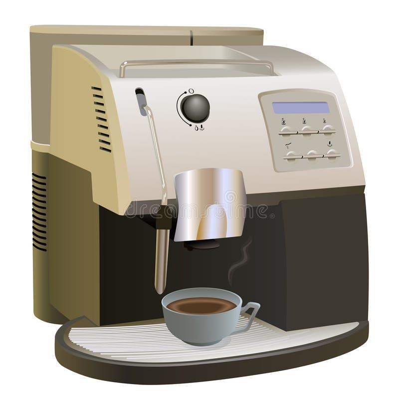 κατασκευαστής καφέ απεικόνιση αποθεμάτων