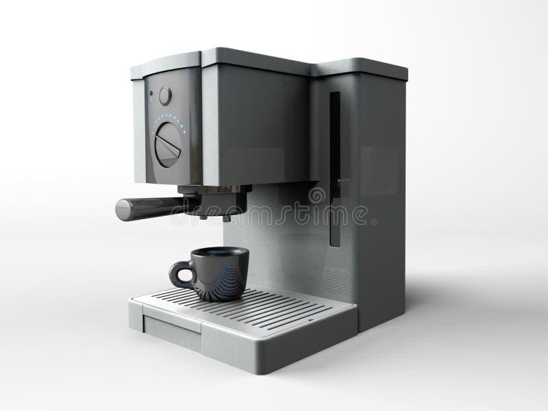 κατασκευαστής καφέ διανυσματική απεικόνιση