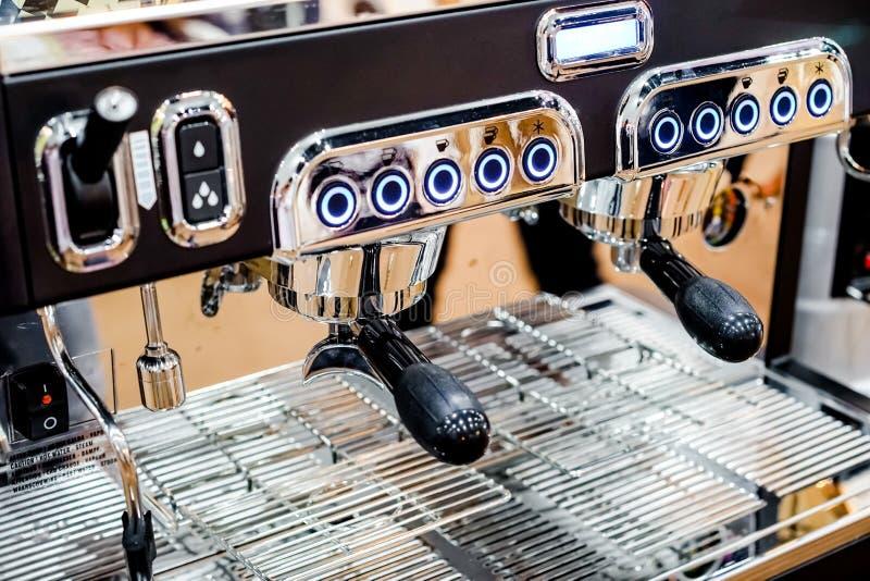 Κατασκευαστής καφέ στοκ εικόνα