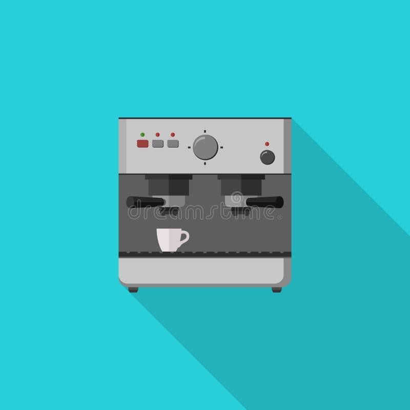 Κατασκευαστής καφέ ελεύθερη απεικόνιση δικαιώματος