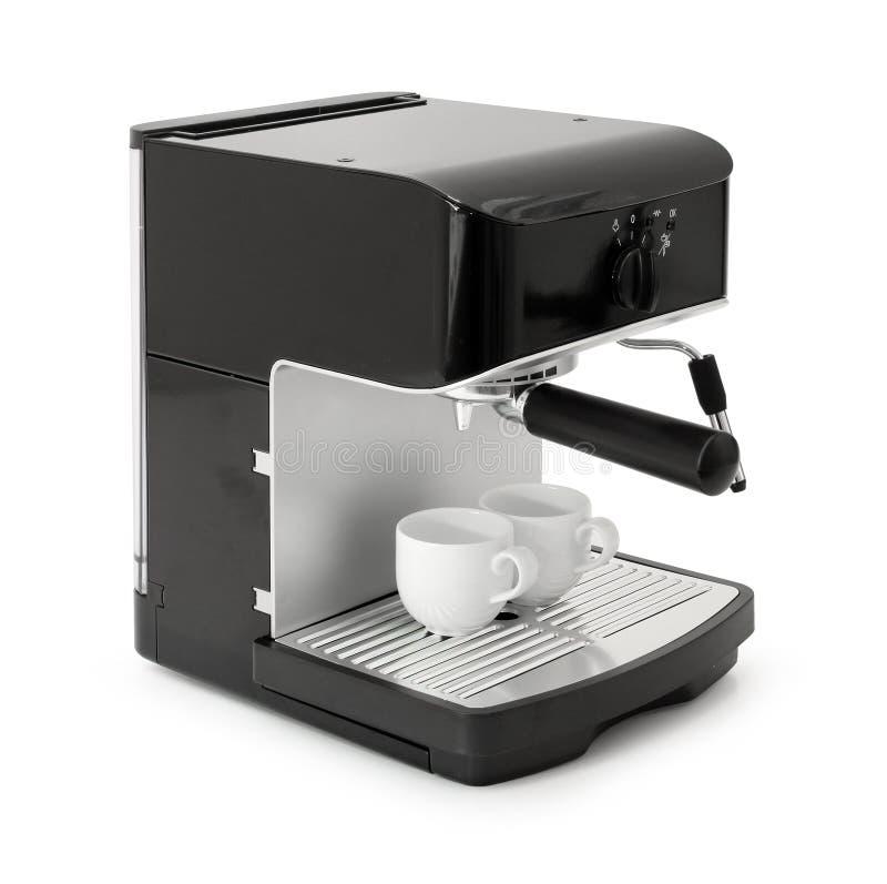 κατασκευαστής espresso καφέ στοκ φωτογραφίες