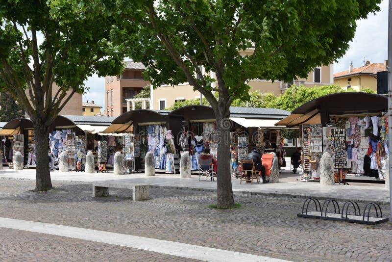 Καταστήματα αναμνηστικών στη Σάντα Μαρία Angeli, Ουμβρία στοκ φωτογραφία με δικαίωμα ελεύθερης χρήσης