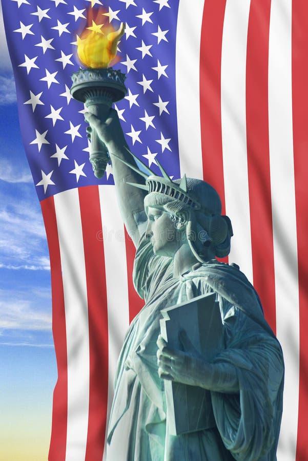 Καταστατικό της Ελευθερίας στοκ φωτογραφία με δικαίωμα ελεύθερης χρήσης