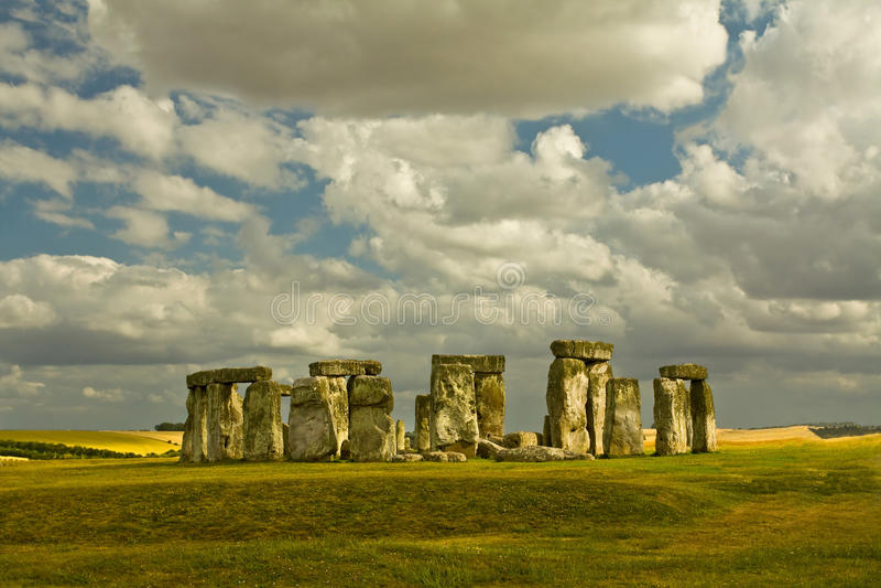 καταστρέφει stonehenge στοκ εικόνα