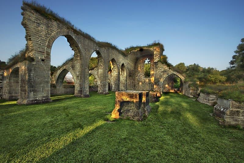 Καταστροφές μοναστηριών στοκ φωτογραφία με δικαίωμα ελεύθερης χρήσης