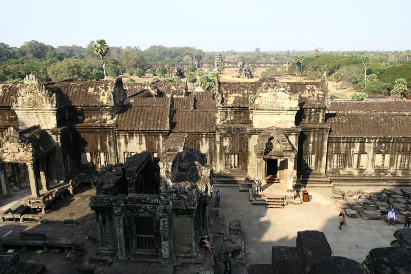 Καταστροφές ναών Wat Angkor στοκ φωτογραφία