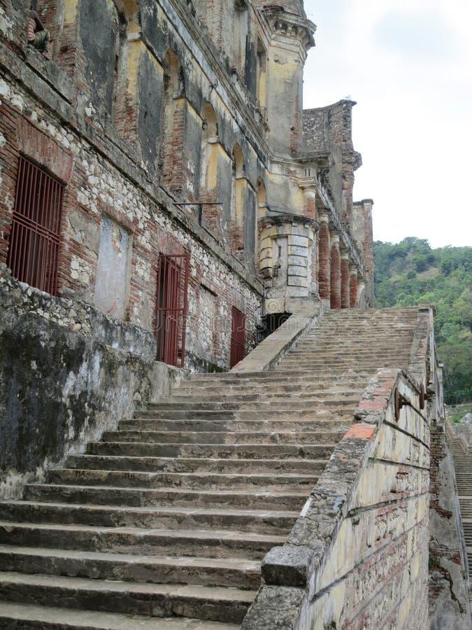 Καταστροφές παλατιών στην Αϊτή στοκ εικόνες με δικαίωμα ελεύθερης χρήσης