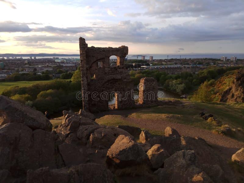καταστροφές Σκωτία στοκ φωτογραφίες