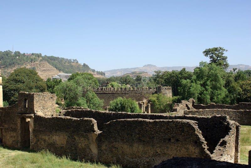 καταστροφές της Αιθιοπί&alp στοκ εικόνες με δικαίωμα ελεύθερης χρήσης