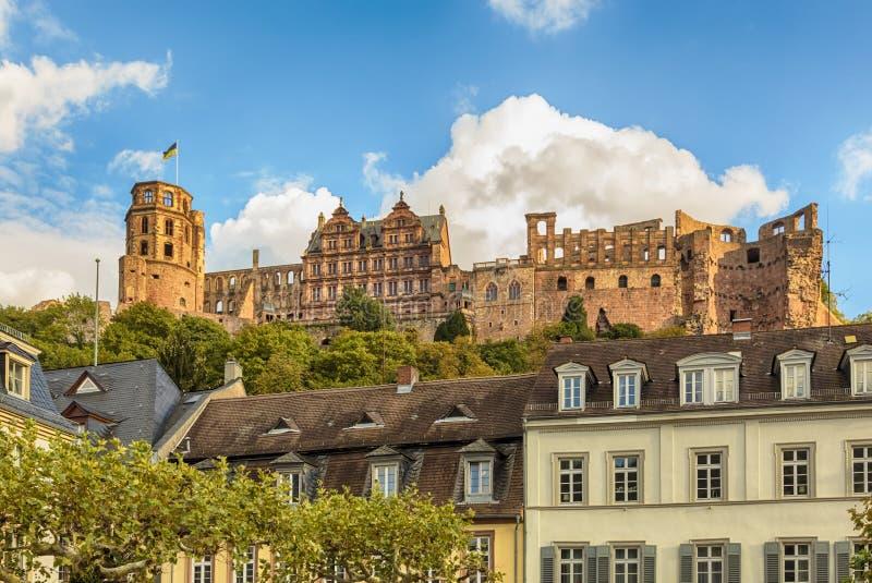 Καταστροφές της Χαϋδελβέργης Castle στοκ εικόνα με δικαίωμα ελεύθερης χρήσης
