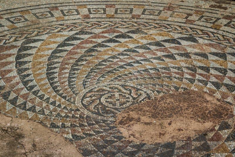 Καταστροφές του αρχαίου ενισχυμένου παλατιού Romuliana & x28 τώρα Gamzigrad& x29  στοκ εικόνες