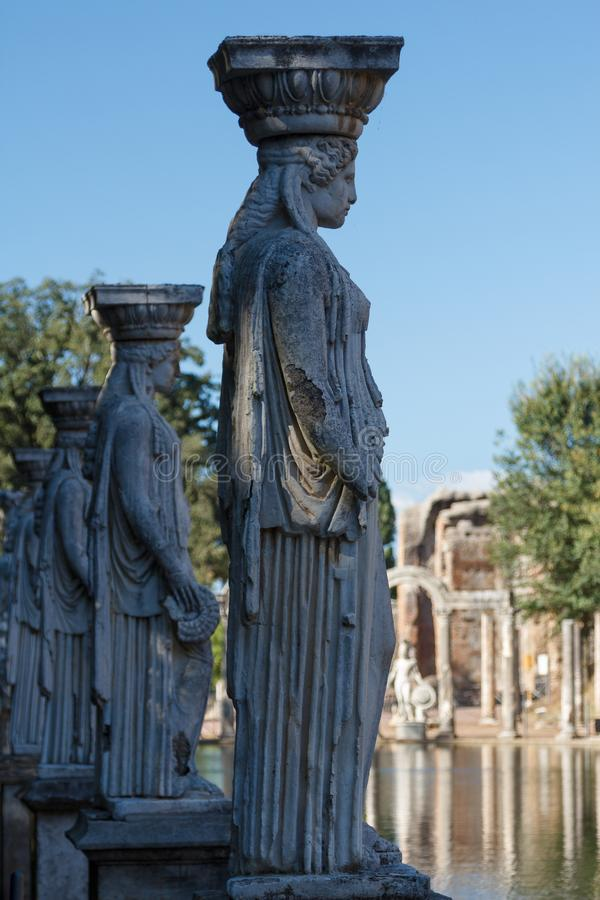 Καταστροφές του αρχαίου συγκροτήματος στοκ εικόνες με δικαίωμα ελεύθερης χρήσης