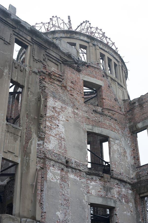 Καταστροφές του θόλου βομβών Α, Χιροσίμα, Ιαπωνία στοκ φωτογραφίες με δικαίωμα ελεύθερης χρήσης