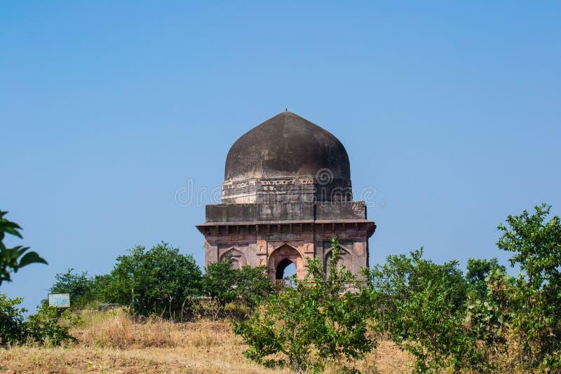 Καταστροφές του ιστορικού τάφου Mandu Mandav στοκ φωτογραφίες με δικαίωμα ελεύθερης χρήσης