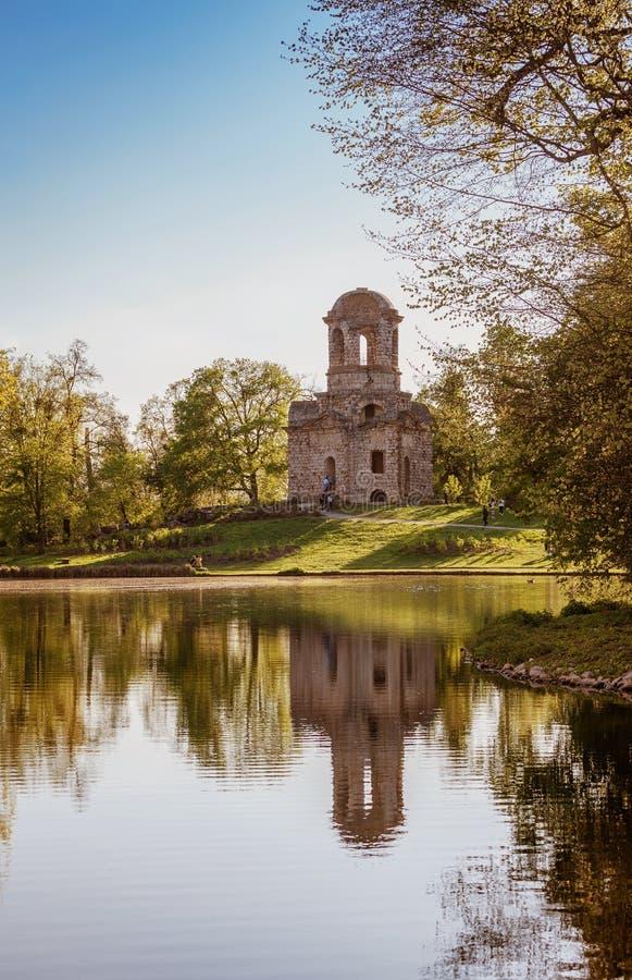 Καταστροφές του ναού του υδραργύρου στοκ φωτογραφία με δικαίωμα ελεύθερης χρήσης