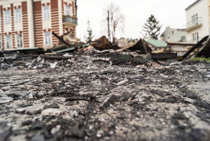 Καταστροφές φραγμών στοκ εικόνες με δικαίωμα ελεύθερης χρήσης